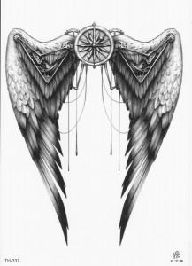 Тату в стиле биомеханика на спине — 106 лучших фото татуировок ...   300x217